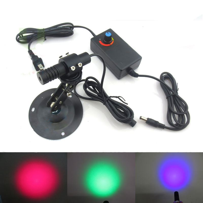 Red/Blue/Green laser module Homogenization effect of circular plane