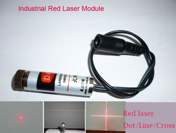 650nm 50mW~500mw Red laser module Dot/Line/Crosshair,Industrial Laser Module,Industrial positioning,Focus adjustable