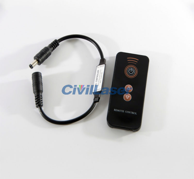 Laser Remote Controller Switch Adjustable Brightness Single mode simple to operate