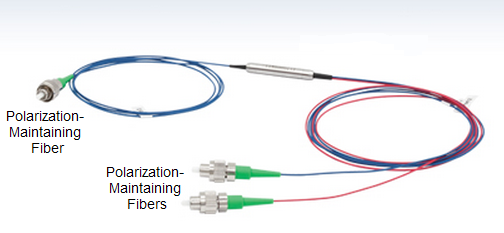 Polarization beam combiner/splitter PBC PBS polarization maintaining fiber