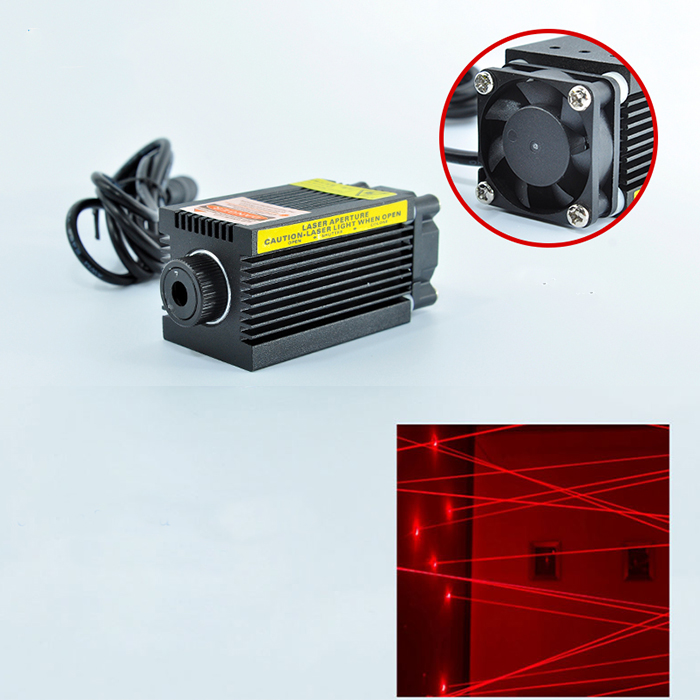 660nm 250mw semiconductor laser High Power Red laser Engrave Room escape