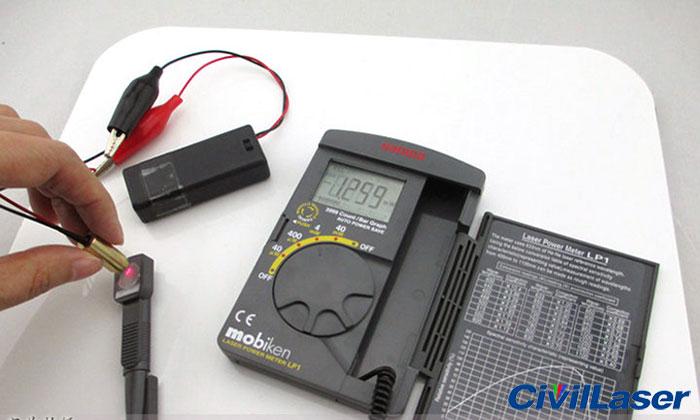Laser Power Meter : Digital sanwa lp laser power meter pocket optical sensor