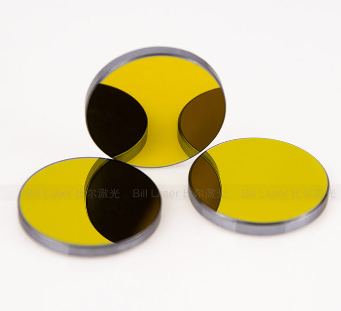 25mm Si Silicon Reflection Mirror For CO2 Laser Cutter Engraver