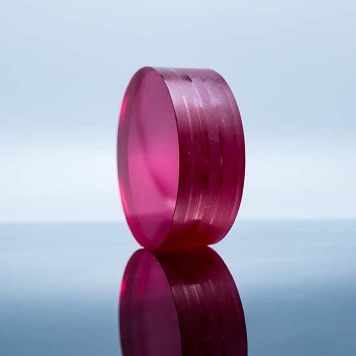 Ti:Sapphire Crystal Titanium Doped Sapphire Laser Crystal Customizable