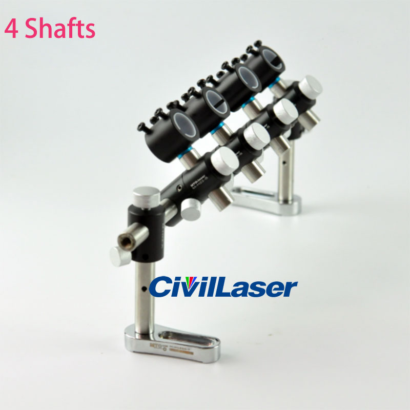 Multiple laser modules holder axis brackets Universal holder