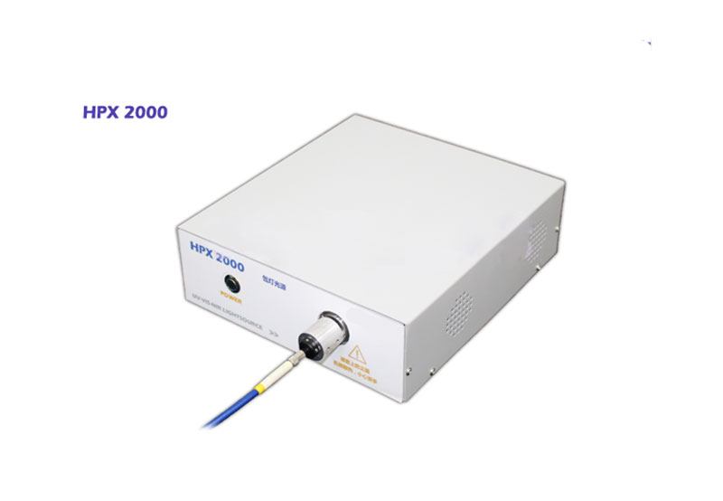 Xenon light source Optical experiment of UV irradiation with Fiber coupled HPX-2000