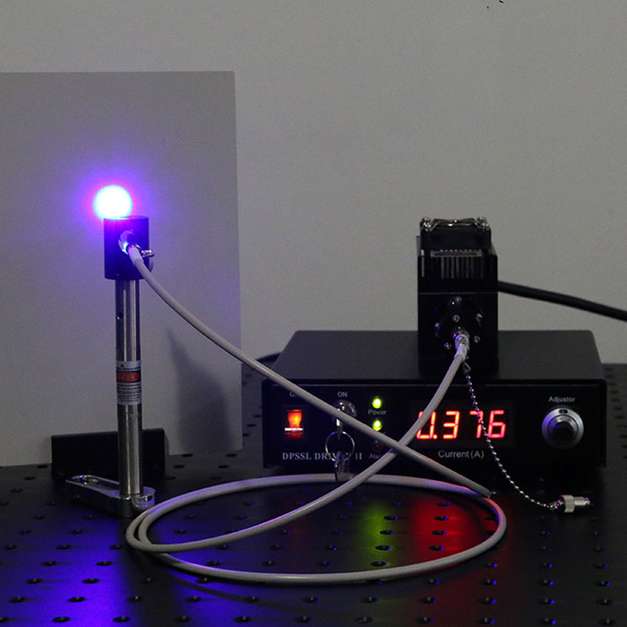 440nm/442nm 1000mW Blue Semiconductor Laser Fiber Coupled Laser