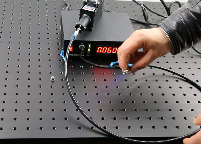 Blue Laser 450nm 70mW Semiconductor Laser SM Fiber Coupled Laser
