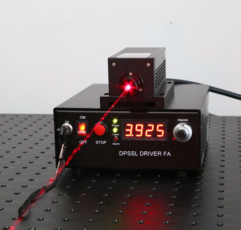671nm 100mW~400mW Red DPSS Laser Diode Pumped Solid State laser with TTL Modulation