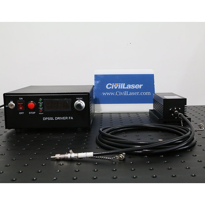 1064nm 5W High Power Fiber Coupled Laser IR Laser Beam Adjustable Output Power