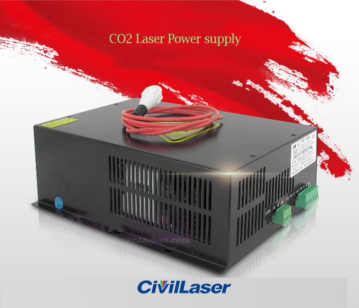 CO2 laser power supply for 40W~150W CO2 laser tube