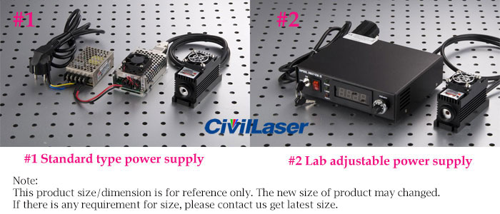 civillaser laser power supply