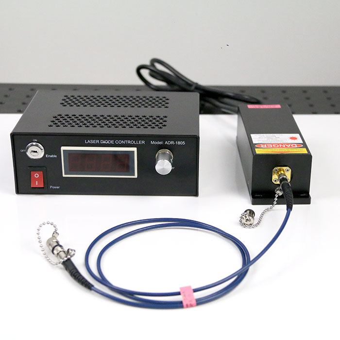 IR Laser Source 785nm 800mW Multimode Fiber Coupled Laser Output Power Adjustable