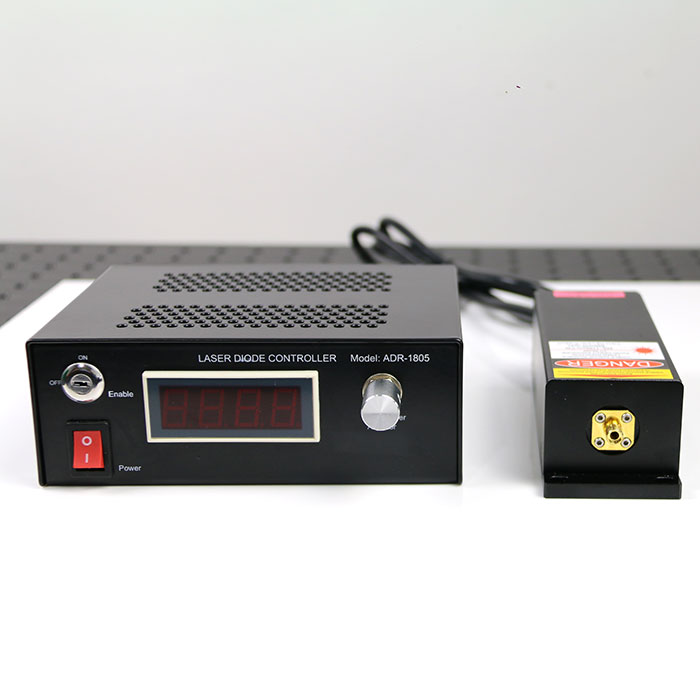 830nm 500mW 0.2nm Ultra-Narrow Linewidth Raman Laser IR Light Source Based on Raman Fiber Laser