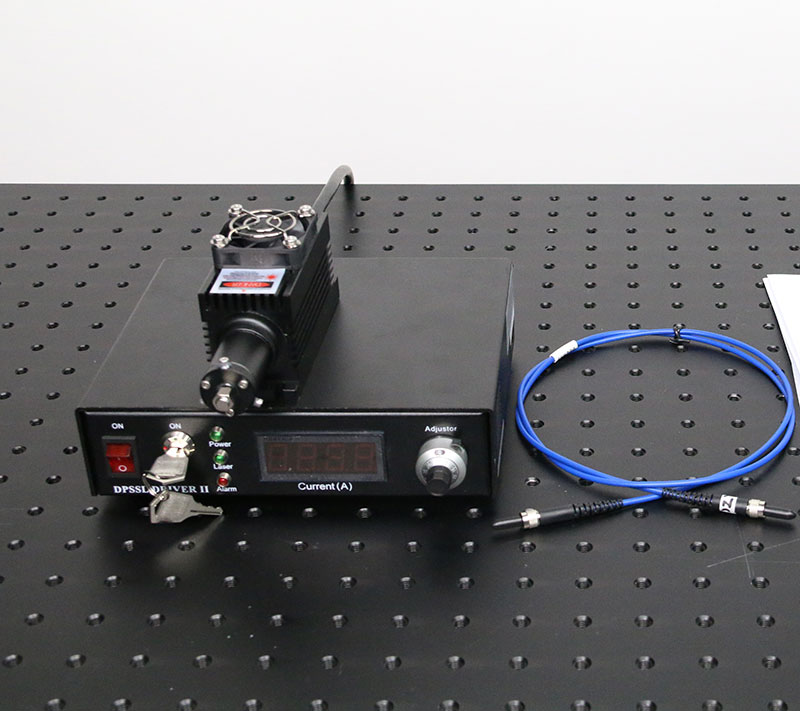 808nm 100mW 1000mW Infrared Fiber Coupled Laser with power supply