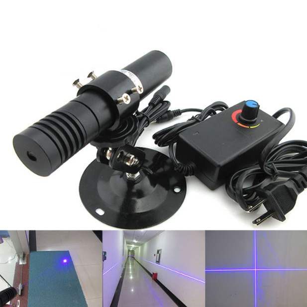 Ultra high brightness 450nm 1500mw Blue adjustable focus laser DOT/LINE/CROSSHAIR