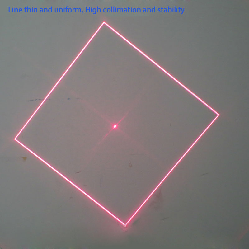 HIgh Power Red Green Blue Square laser module