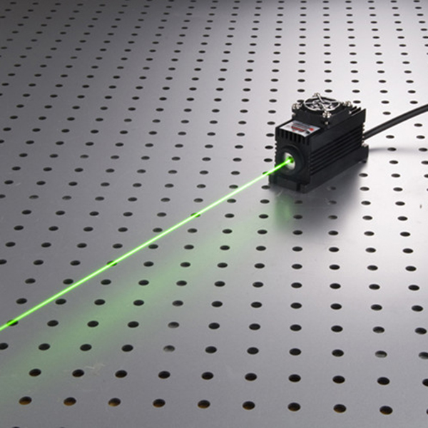 505nm 20mw Green solid state laser with power supply