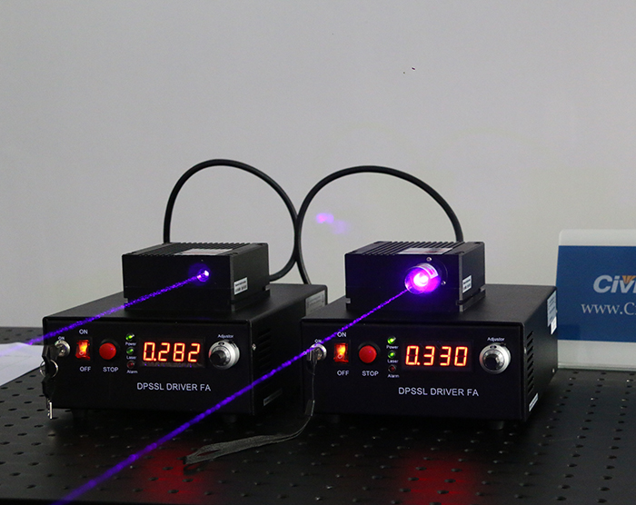 405nm 1200mW Semiconductor Laser Blue-violet Diode Laser