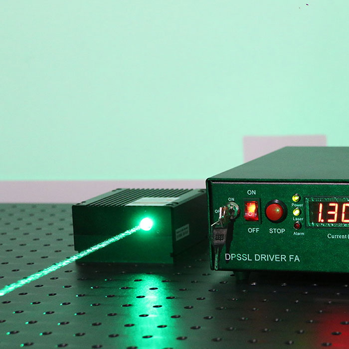 520nm 6W High Power Semiconductor Laser Green Diode Laser