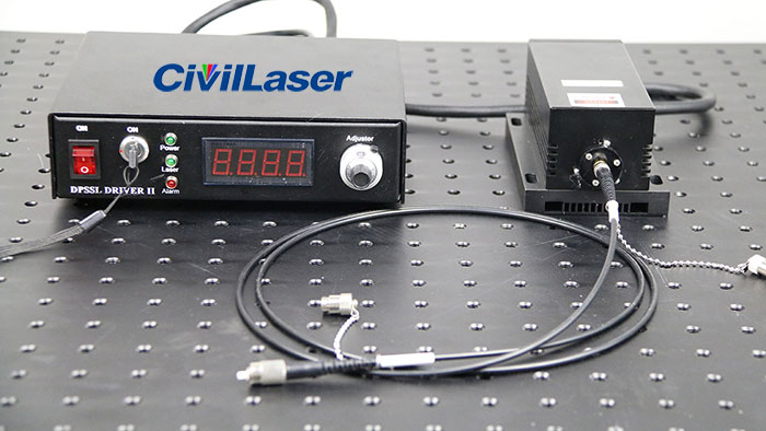 3000mW 825nm laser diode fiber coupled laser source stability