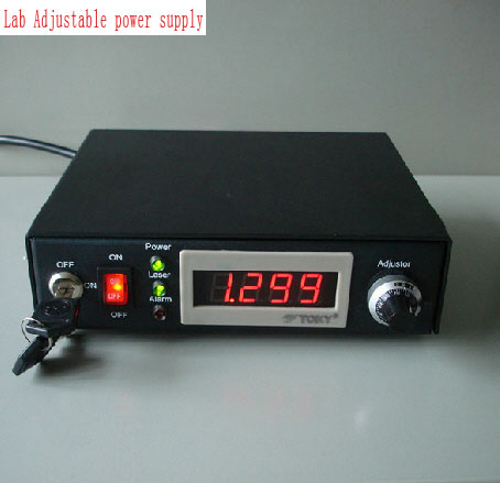 Lab Adjustable power supply for DPSS laser