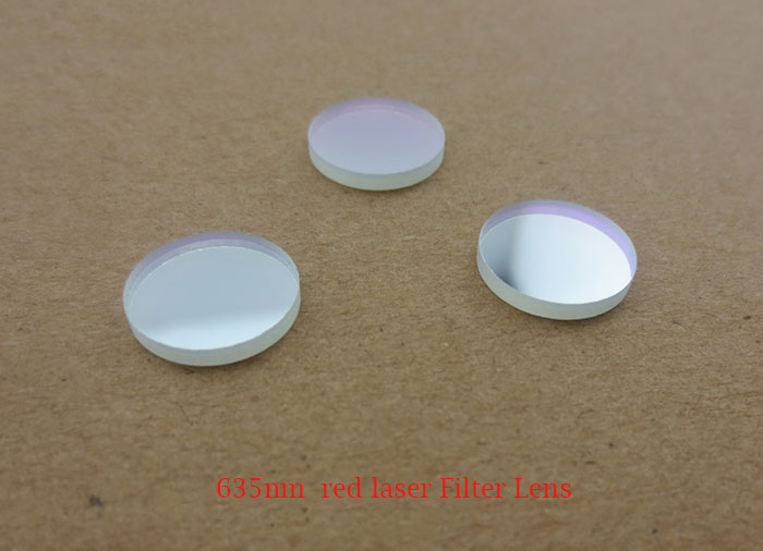 635nm laser filter lens pass red laser against other laser