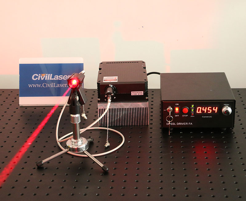 660nm 10W High Power Laser Fiber Coupled Laser Red Laser Source