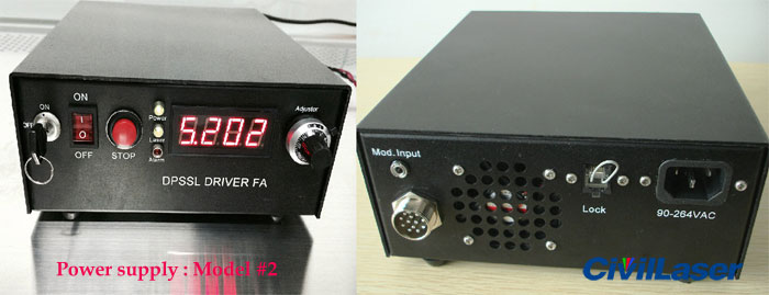 dpss laser power supply