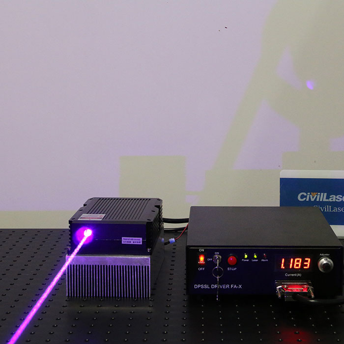 445nm 15W blue high power laser with power supply