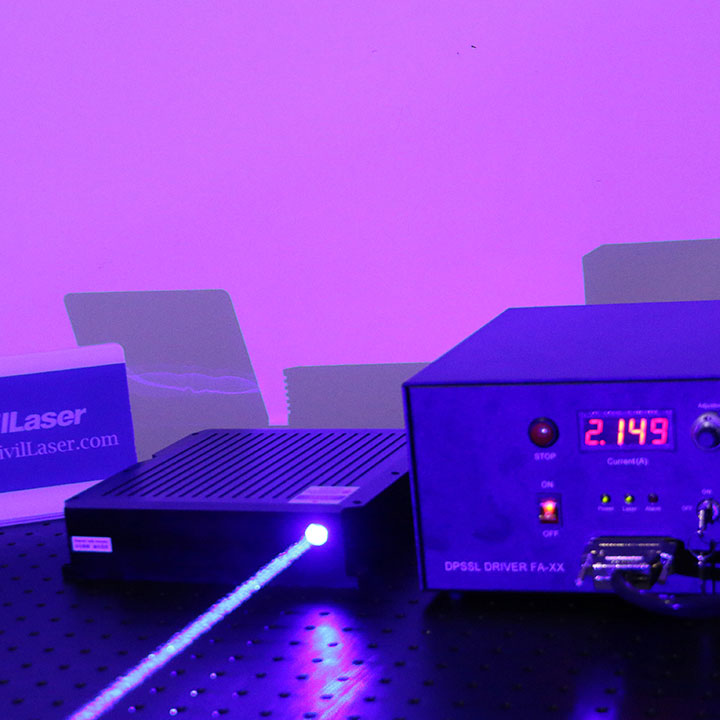 455nm 30W~50W Blue Semiconductor Laser High Power Laser Source