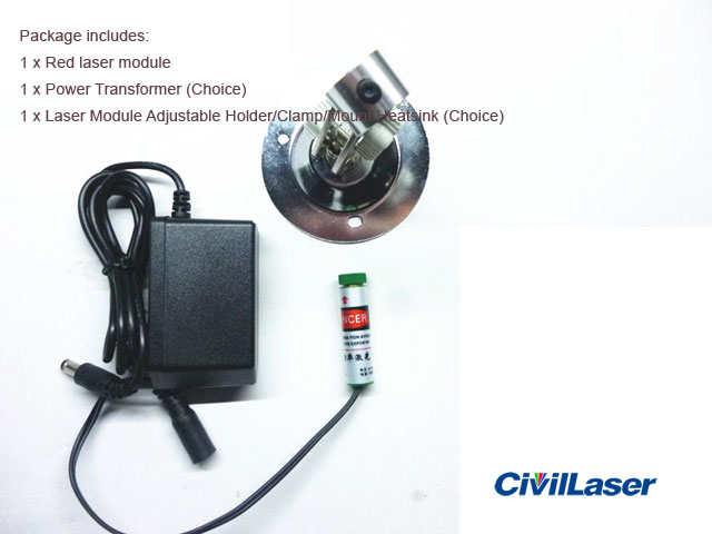 650nm 5mW~200mw Red laser module Line / Professional level / continue work long time / Industrial positioning / Focus adjustable