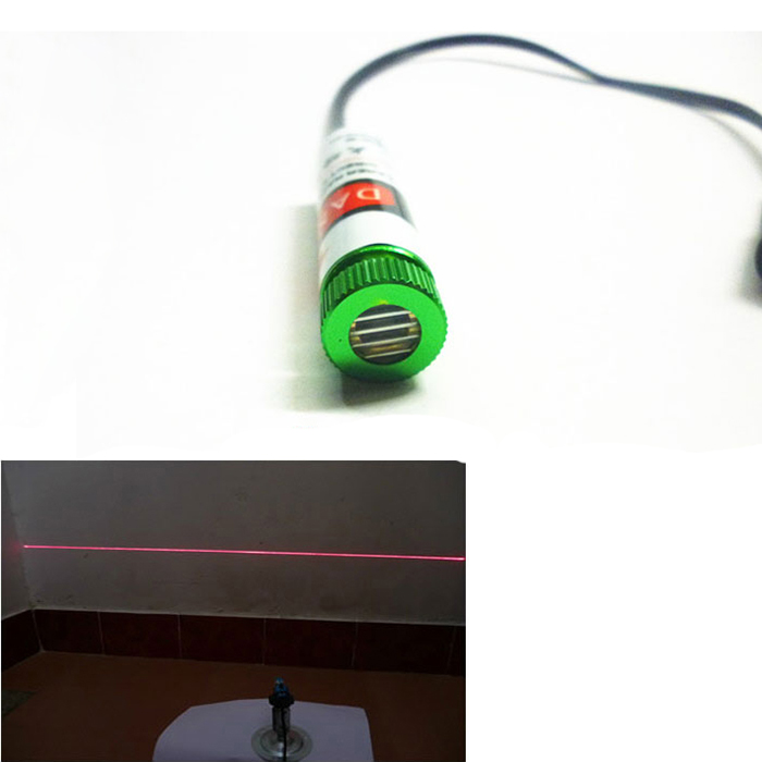 650nm 5mW~200mw Red laser module Line / Professional level / 24 hours continue work / Industrial positioning / Focus adjustable