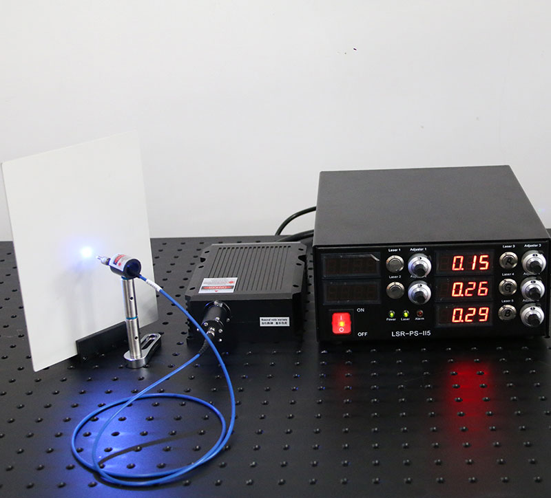 3IN1 RGB Laser 10W Fiber Coupled Laser Red/Green/Blue Laser Synthetic White Light