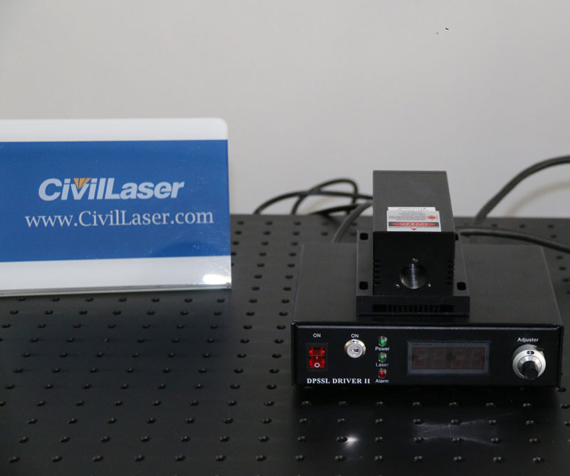 705nm 1~50mW Semiconductor Laser Near IR Laser Source