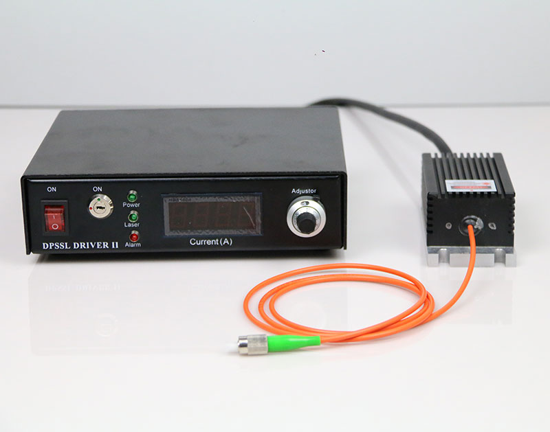 IR Laser 808nm 100mW Single Mode Fiber Coupled Laser CW/TTL/Analog Modulation
