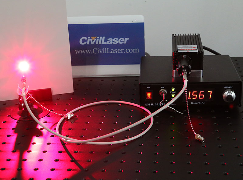 Laser And Fiber Coupling And Output Collimator For 445 473