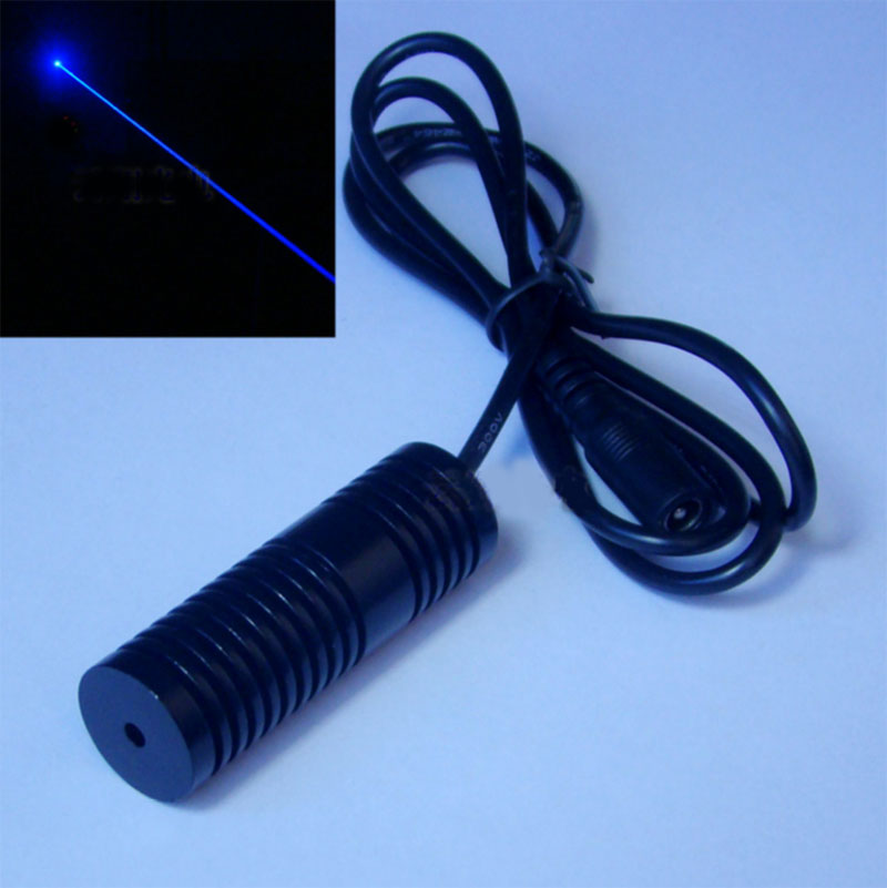 445nm~450nm 300mw Pure Blue Laser Module High Power Secret Chamber Escape Laser Network Special Launcher
