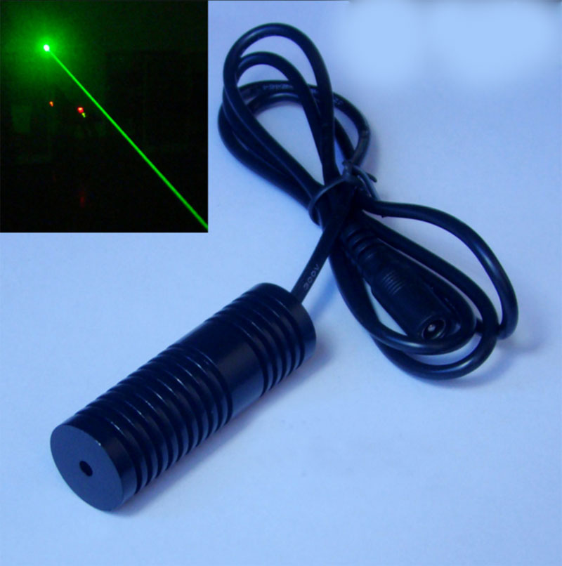 532nm 5V~24V 50mW 80mw Green laser module dot Wide voltage Factory direct sales