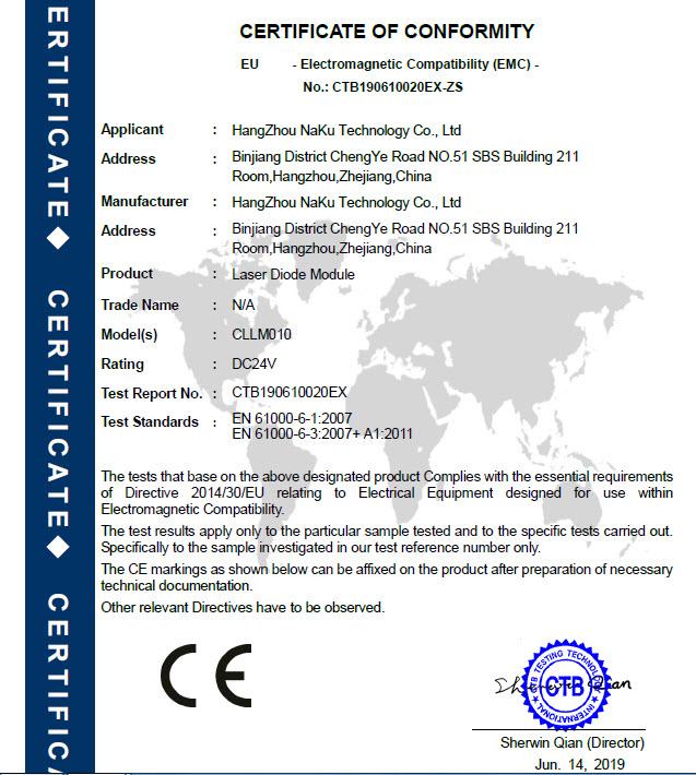 02-LaserModule-CE EMC Certification