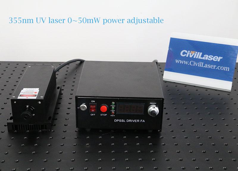 355nm laser uv laser