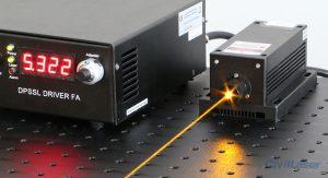 589nm yellow dpss laser