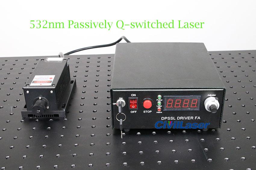 532nm Q switch laser